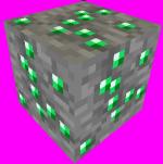 Minecraft. Guía sobre minecraft (Aún no completa). 150px-EmeraldOre